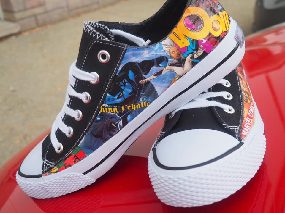 Comic Book Kicks by Key