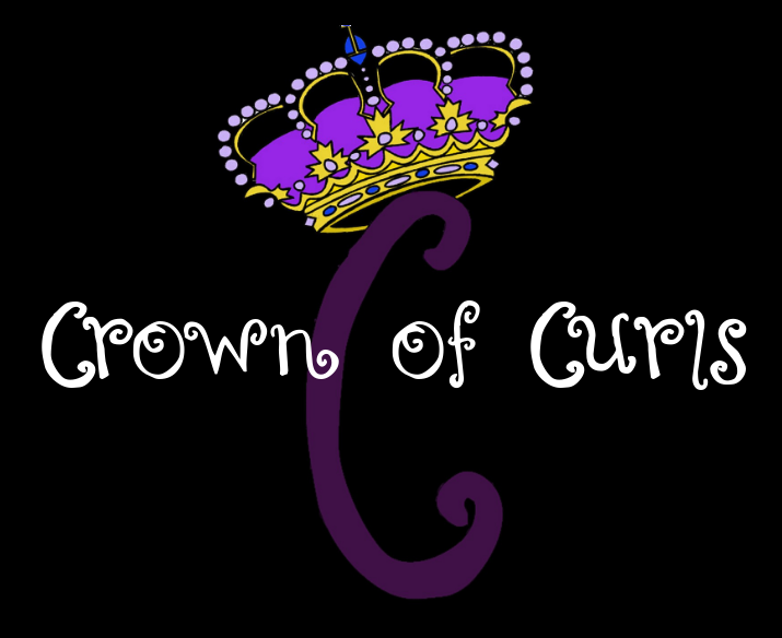 Crown of Curls Logo