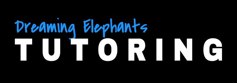 Dreaming Elephants Tutoring logo