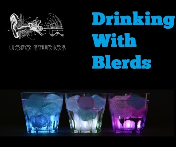 Drinking With Blerds Podcast logo