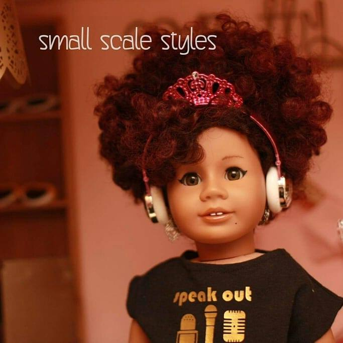 Small Scale Styles: Small Scale. Big Style.  Fashion for American Girl