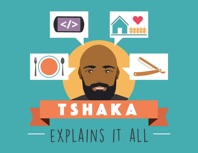 Tshaka Explains It All logo